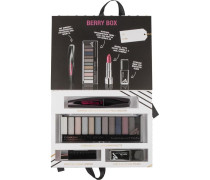 Berry Box Geschenkset Supreme Lash Wonder'fully Real Mascara Nr. 0101N Black 11 ml + Eyemazing Eye Contouring Palette Smoke Edition 14;16 g Moisture Renew Lipstick 900 Crystal 4 Last & Shine Nail Polish 950 is Back 10