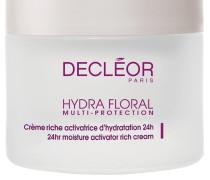 Hydra Floral Multi-Protection Crème Activatrice D'Hydratation 24h