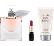 La Vie est Belle Geschenkset Eau de Parfum Spray 50 ml + Nourishing Fragranced Body Lotion L'Absolu Rouge Matte Nr. 378 Rose