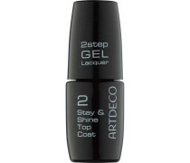 Make-up Nägel 2 step Gel Lacquer Stay & Shine Top Coat