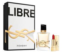 Libre Geschenkset Eau de Parfum Spray 50 ml + Rouge Pur Couture Lipstick N°1 1;6 g
