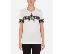 T-Shirt aus Jersey mit Millennials Star-Print