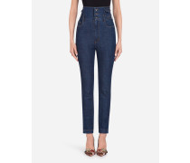 5-Pocket-Jeans aus Baumwoll-Stretch