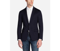Jacke aus Baumwolljersey