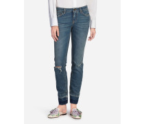 Jeans Fit Pretty aus Stretch-Denim