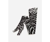 Strumpfhose AUS Tüll Zebraprint