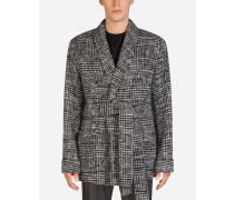 Blazer in Wickelform aus Wolle