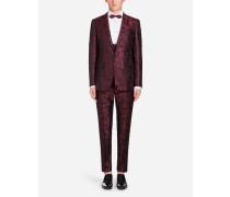 Martini Fit Anzug aus Seiden-Jacquard