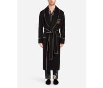 Mantel aus Kaschmir mit Patch