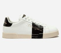 Sneaker Portofino aus Kalbslackleder