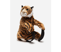 Rucksack aus Tiger-Webpelz