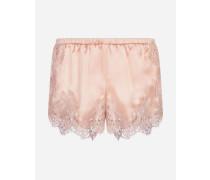 Panty aus Seidensatin
