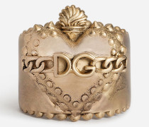 Ring mit Herz und Dg-Logo
