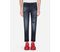Slim Stretch Jeans Nachtblau