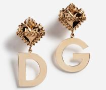 Ohrhänger mit DG Logo