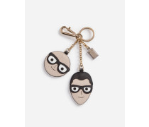 Schlüsselanhänger mit Designer-Charm