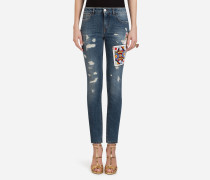 Jeans Pretty Fit aus Denim Stretch