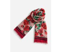 Bedruckter Schal aus Kaschmir Modal 135 x 200