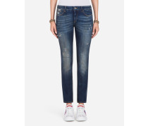 Jeans Pretty Fit aus Denim Stretch