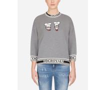Sweatshirt aus Baumwolle #dgfamily