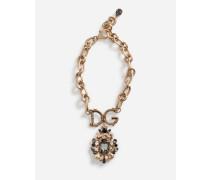 Halskette mit Dekorativen Elementen