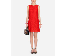 A-Linien-Kleid aus Cordonnet-Spitze