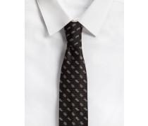 Krawatte aus Seide 6 CM Breit
