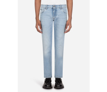 Helle Stretch Skinny Jeans