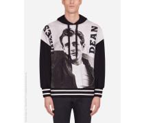 Kapuzensweatshirt Print James Dean