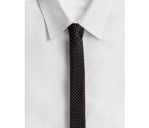Krawatte aus Seide 4 CM Breit