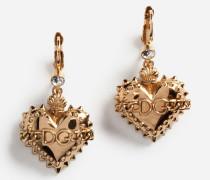 Ohrhänger mit Logo-Herzen