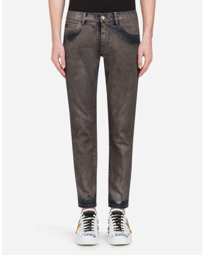 Stretch-Jeans im Gold Fit