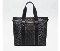 Handtasche aus Bedrucktem Nylon