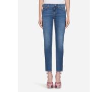 Jeans Pretty Fit aus Stretchdenim