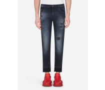 Slim Stretch Jeans Nachtblau