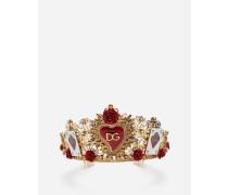 Krone mit Dekoelementen