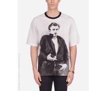 T-Shirt AUS Baumwolle Print James Dean