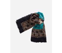 Schal aus Bedrucktem Kaschmir und Seide