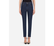 Jeans im Audrey Fit aus Baumwoll-Stretch