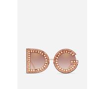 Sonnebrille DG mit Kristallen