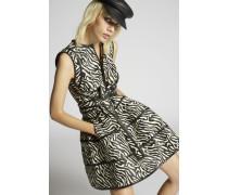 Cotton Safari Jacquard Dress