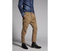 Cotton Sexy Cargo Pants