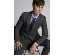 Tropical Weight Stretch Worsted Wool London Suit