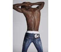 Splashed Cuff Regular Clement Jeans
