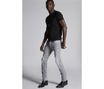 Grey Denim Cool Guy Jeans