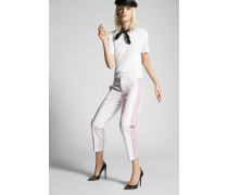 Tulle Ruffled Sides Hockney Pants