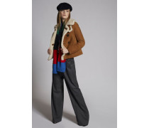 Stretch Flanel Lady Slouch Pants