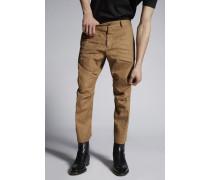 Cotton Linen Skipper Pants