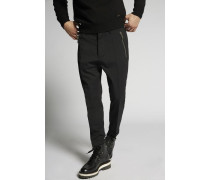 Stretch Wool Hockney Pants