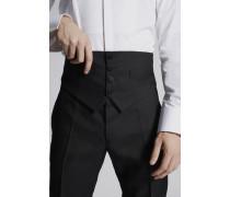 Silk Wool Waist Belt